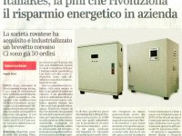 ItaliaRes, the SME that revolutionizes the energy saving in the company